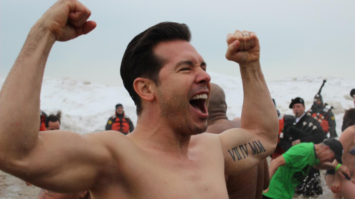 Jon Seda of ChicagoPD celebrates taking the plunge!