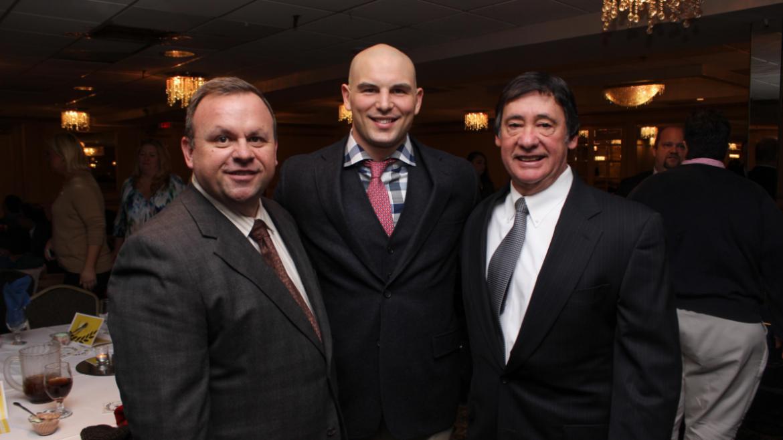 Patrick Townsend, Tom Zbikowski, Jimmy Rey.