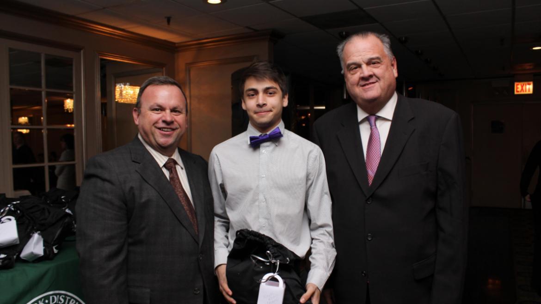 Haas Park finalist, Noah Khan.