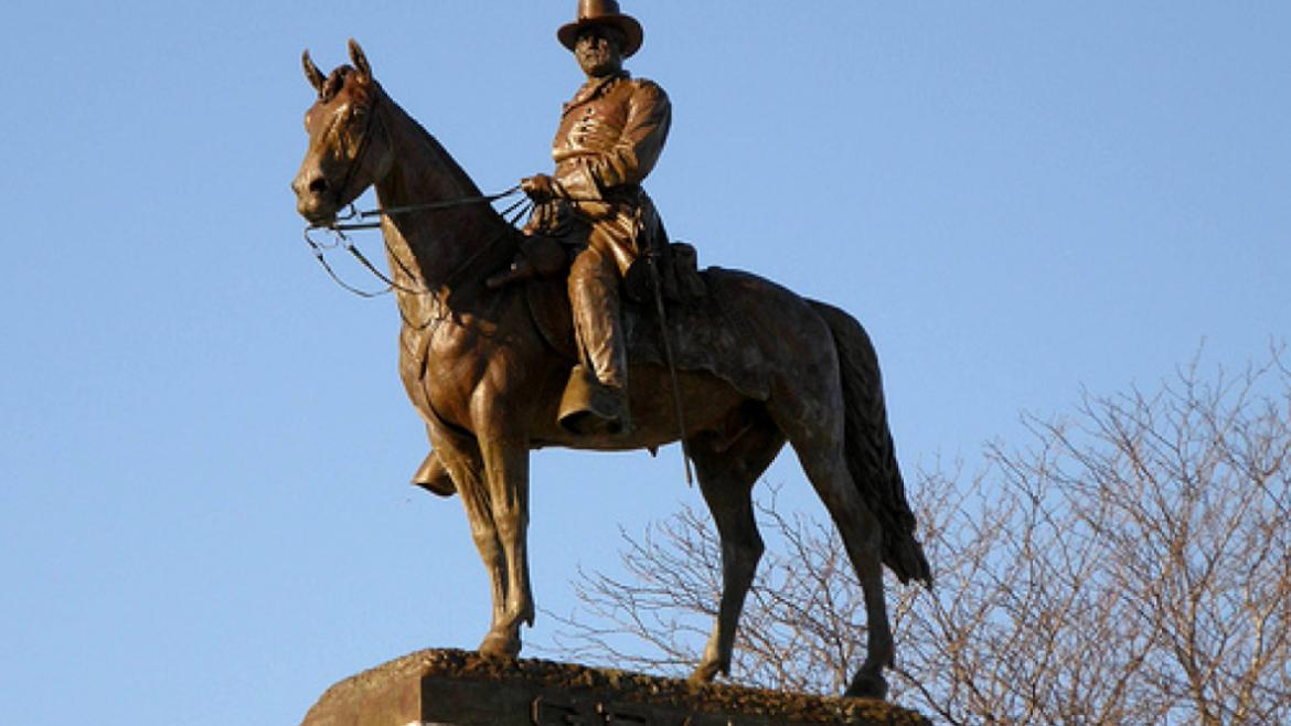 Park patrons often ask why the Ulysses S. Grant Monument is located in Lincoln Park.
