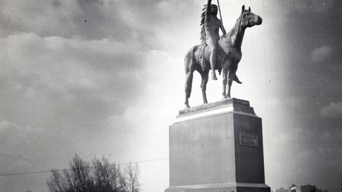 By the mid 1920s, the sculpture had been moved to its current location near the Diversey Harbor, CPD