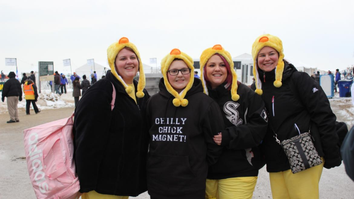 Chilly Chick Magnets!