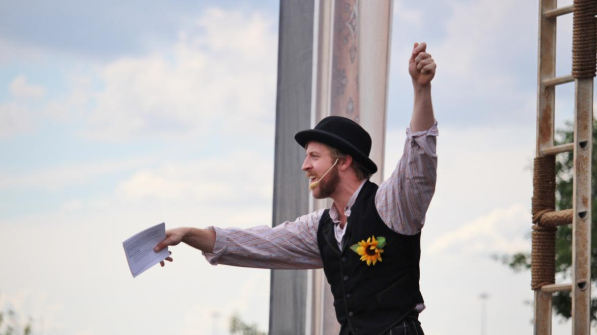AUG- The Chicago Shakespeare Theater delighted park patrons with free performances of Twelfth Night