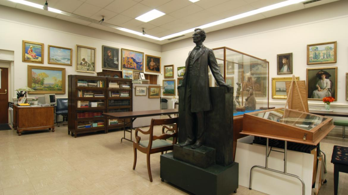The Vanderpoel Collection includes several sculptures such as a bronze model