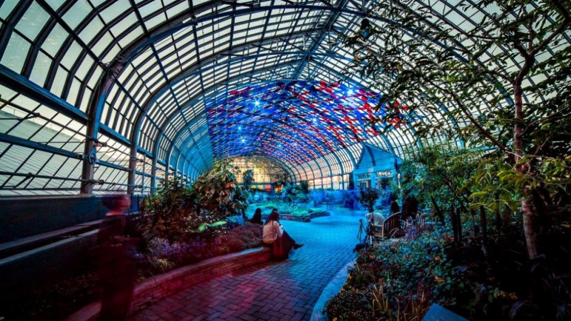 The Conservatory is Absolutely Stunning!