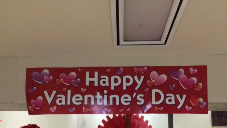 Celebrating Valentine's at Skinner