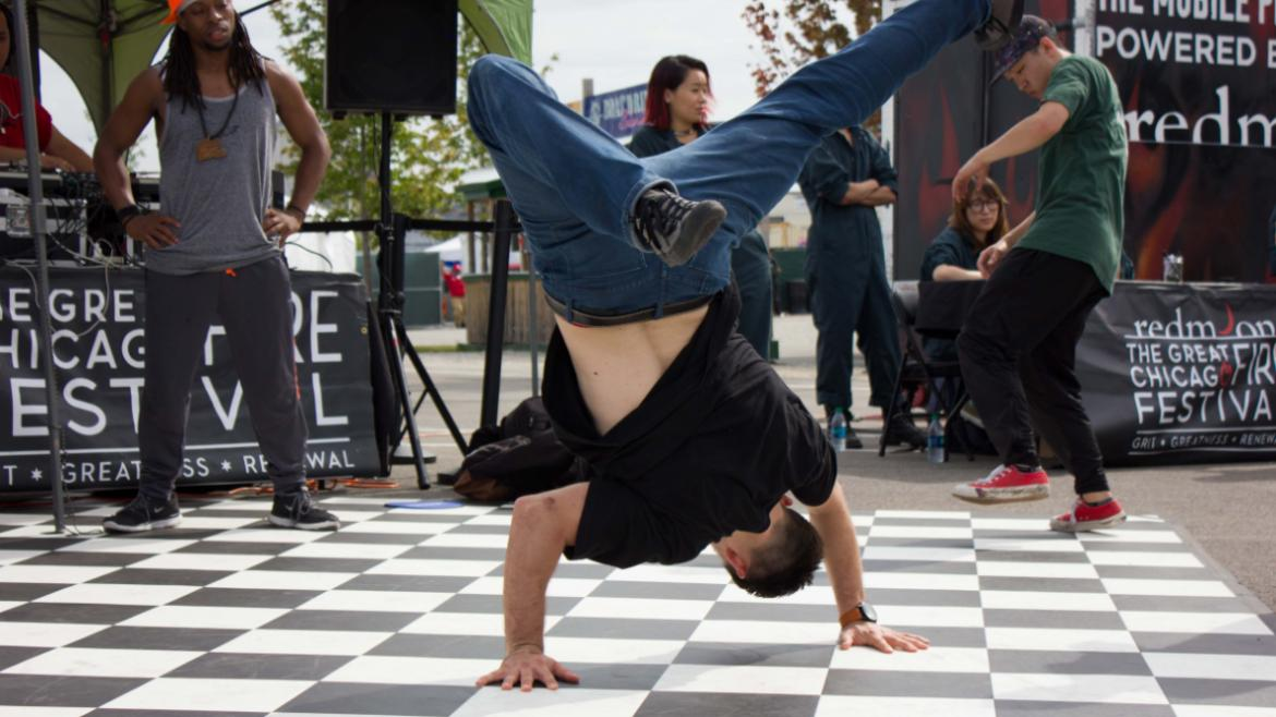 Redmoon Break Dancers