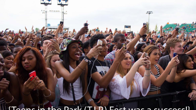 The teens loved T.I.P. Fest!