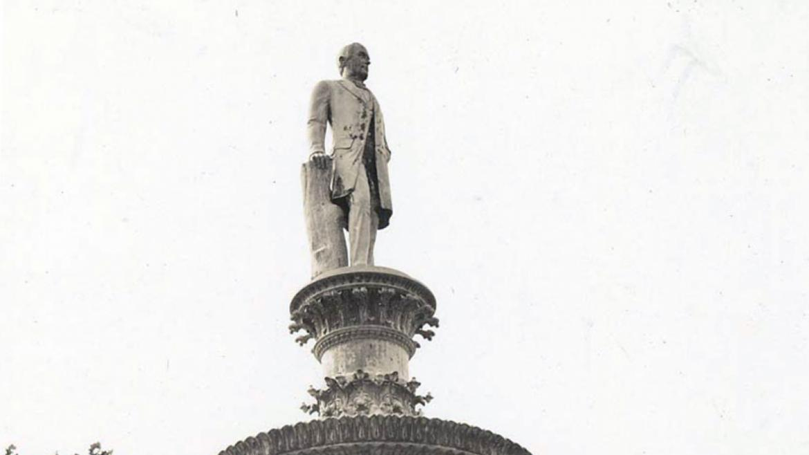 The ornate Drexel Fountain is one of Chicago's oldest public sculptures, CPD Special Collections