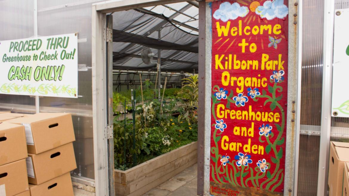Welcome to Kilbourn Park Greenhouse Plant Sale