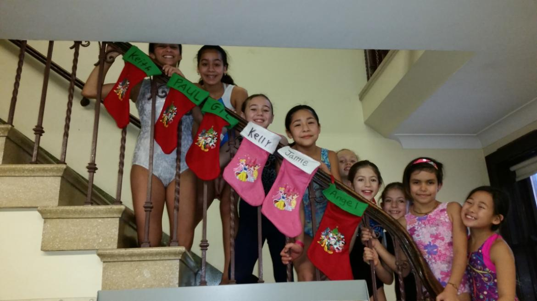 Happy Holidays for Avondale Park Gymnastics Team