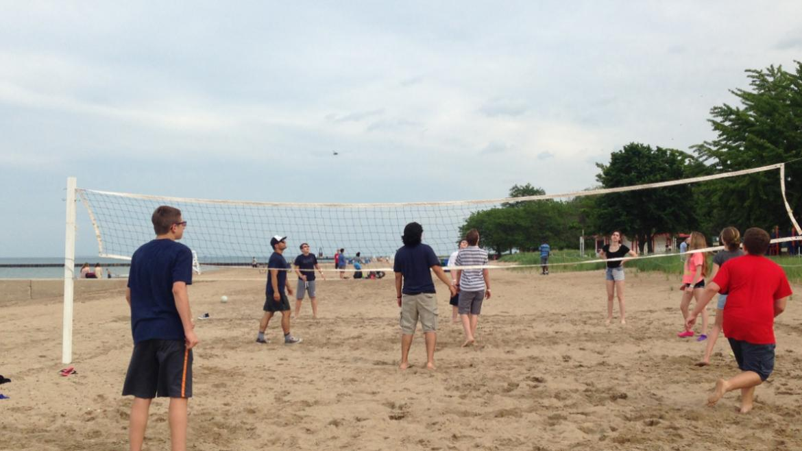 Teen Beach Volleyball