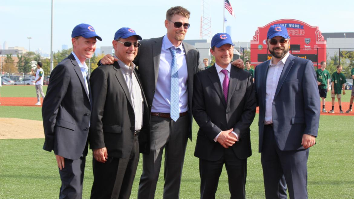 Kerry Wood Cubs Stadium Ribbon Cutting