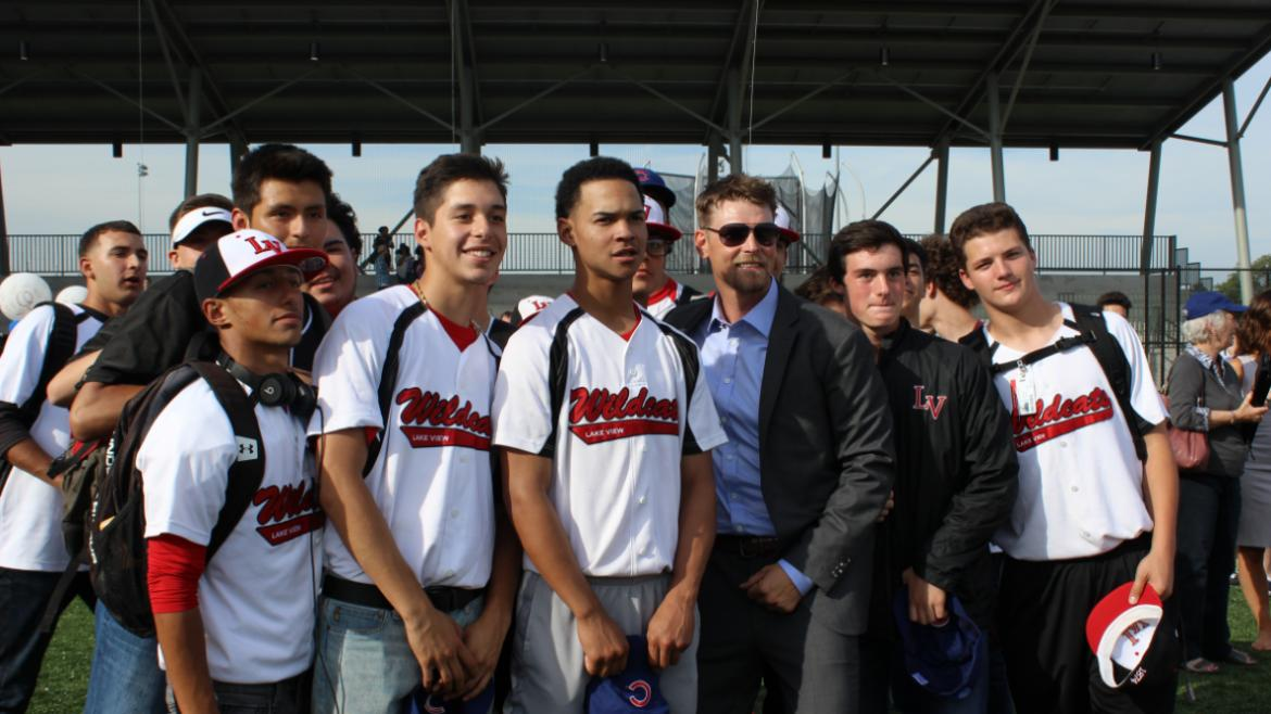 Wildcats Team with Kerry Wood.