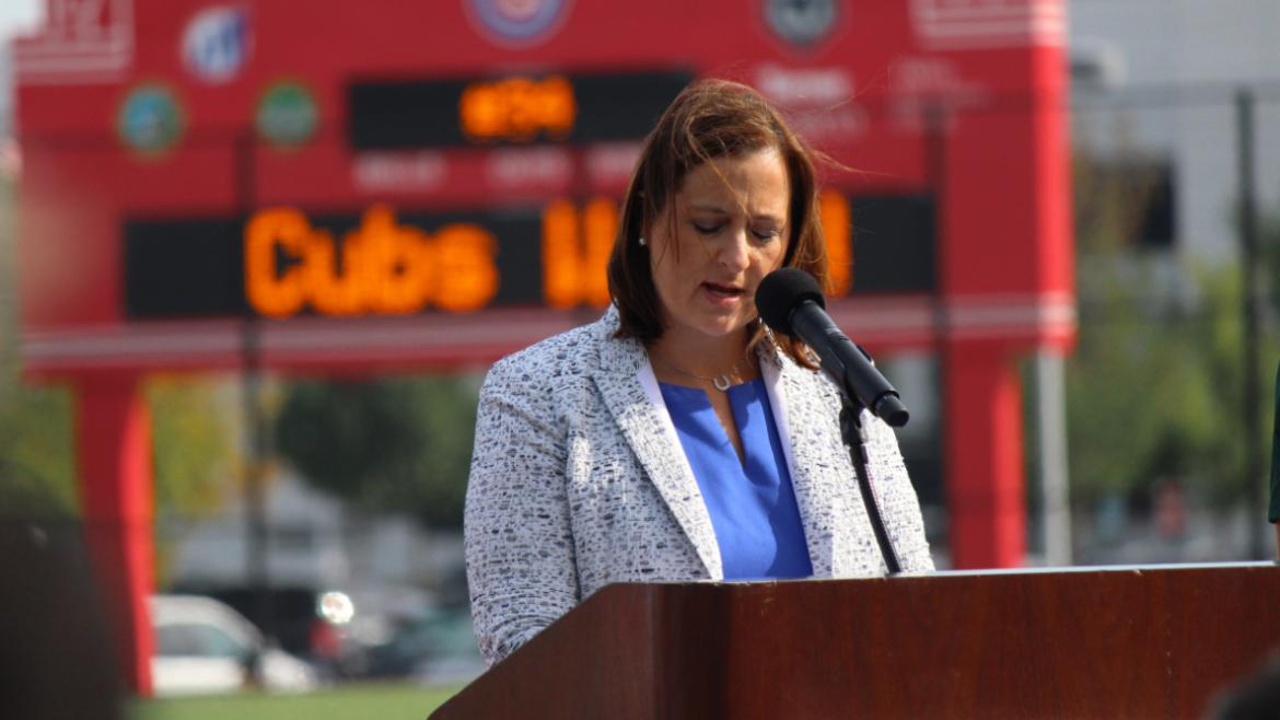 Cubs Charities Board Chair Laura Ricketts