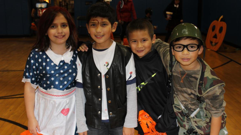 Kids at River Park.