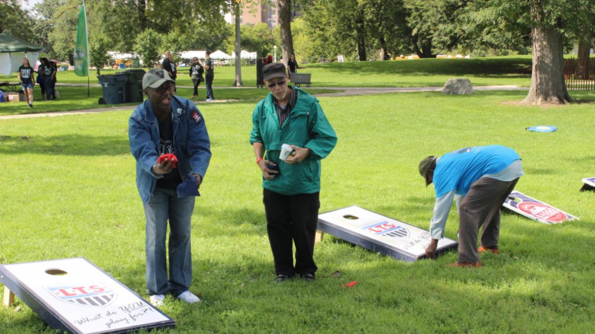 Veterans Field Day 2015- concentrated on bags