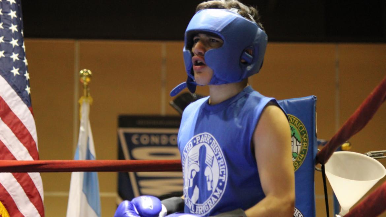 Teen boxer.