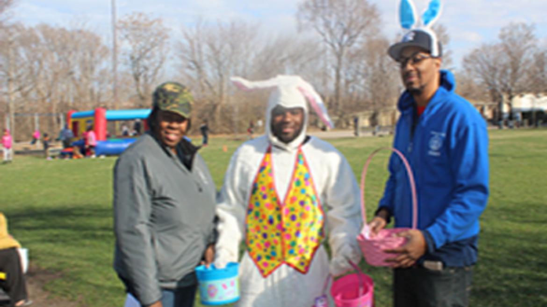 Clark Park Bunny Event