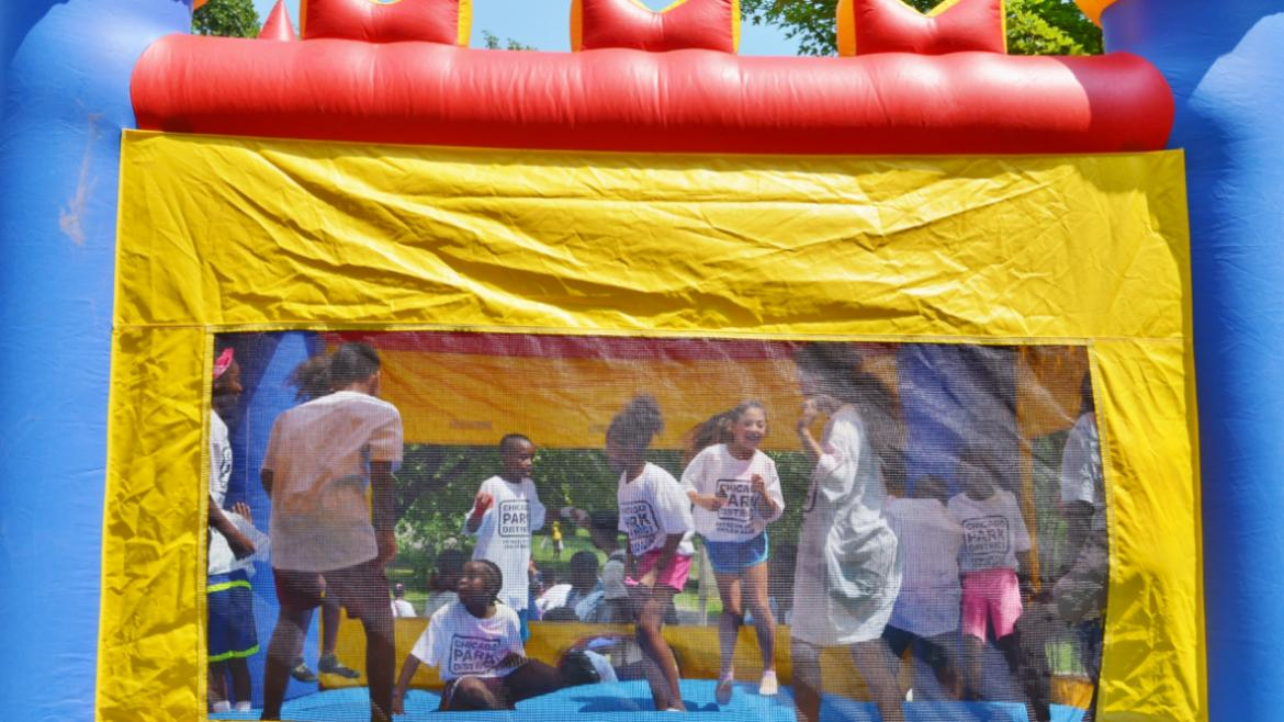 What's better than a bouncy house?