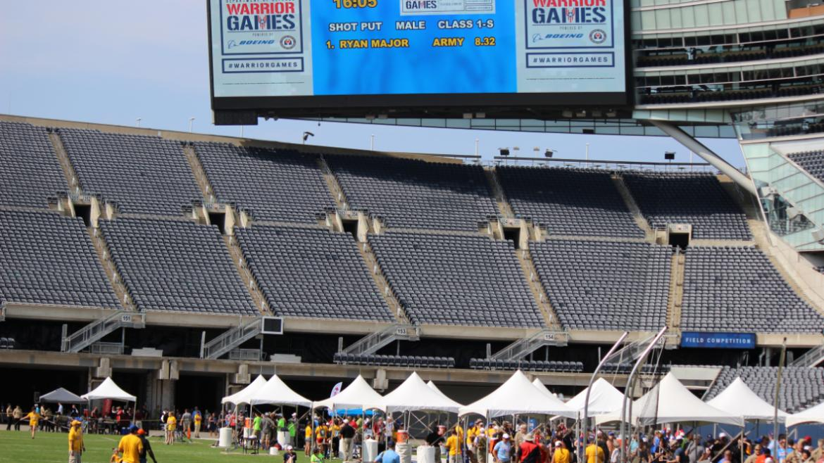 Field day at Soldier Field!
