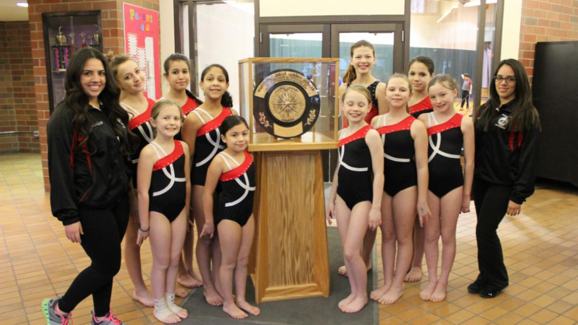 gold_medal_warren_park_gymnastic_team