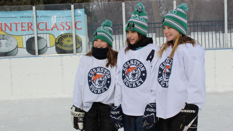 Girls love hockey too! #runlikeagirl