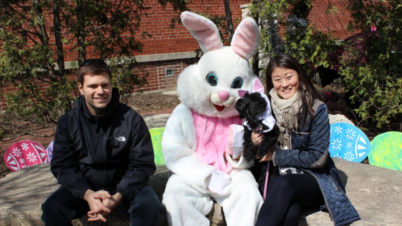 Bunny meets Bunny at Horner Park!