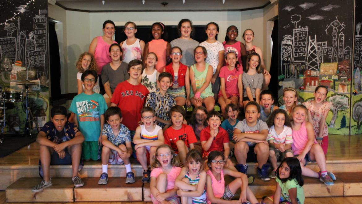 Theater Musical Camp at Indian Boundary.