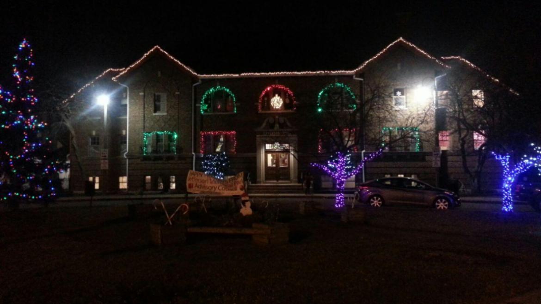 Holiday lights at Jefferson Park!