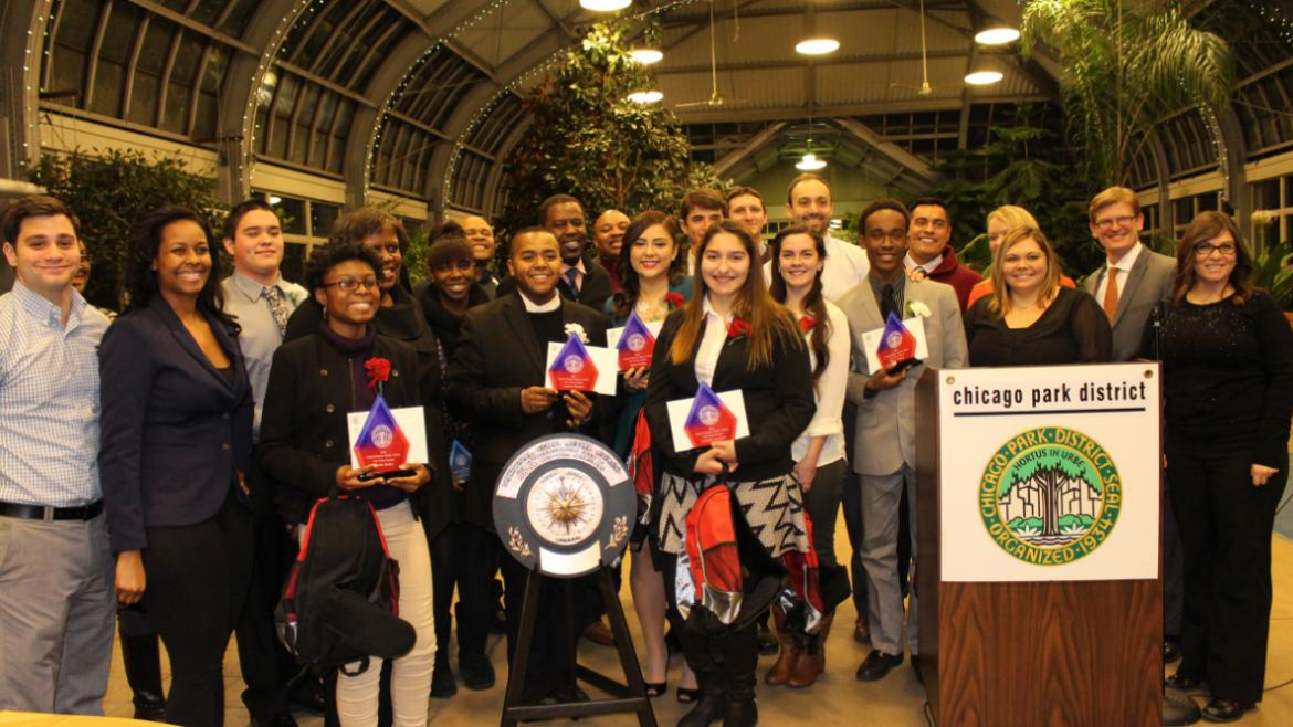 Central Region Junior Citizen Ceremony at the Garfield Park Conservatory