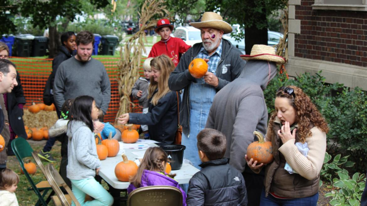 Pumpkin Patch at Lincoln Park Cultural Center