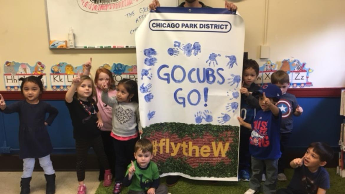 Mayfair Park says the cubs are #1!