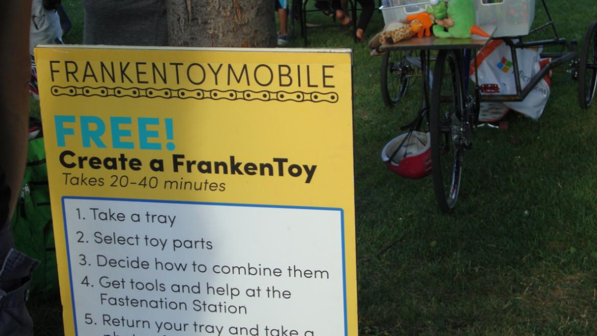 FRANKEN TOYMOBILE at McKinley Park