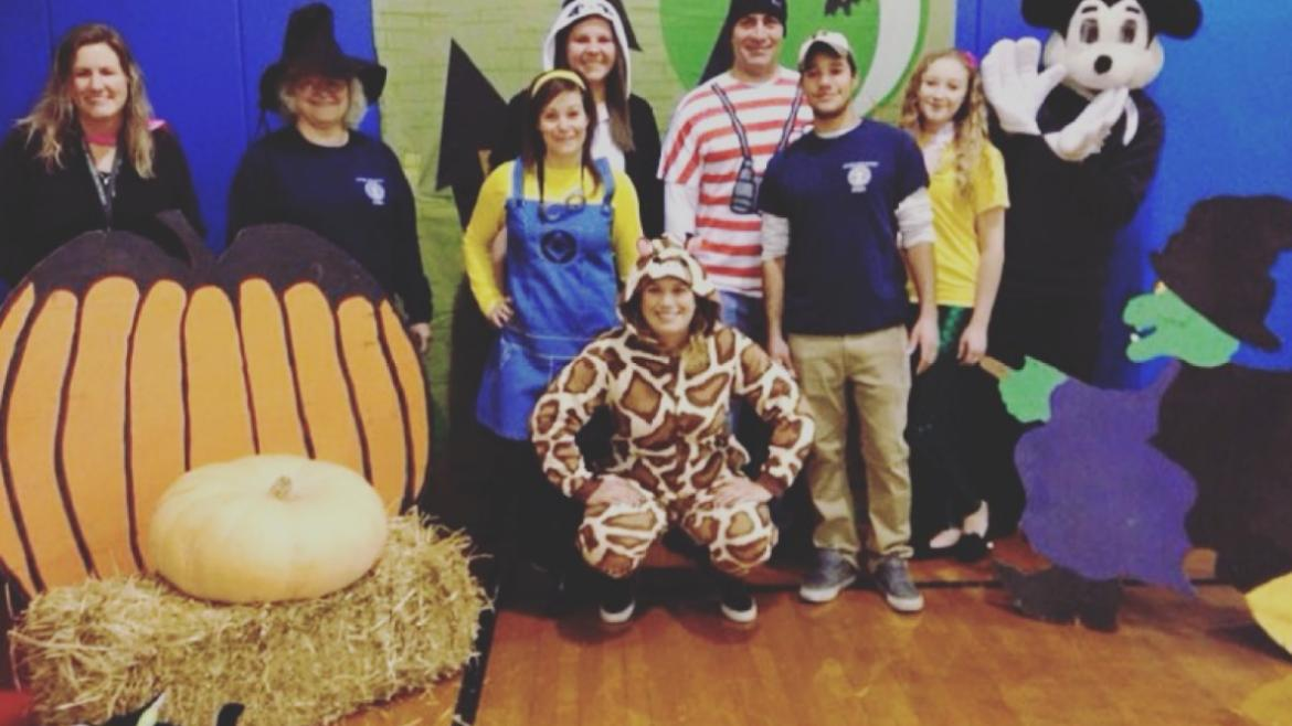 Norwood Park staff got all dressed up for their annual Halloween Party!