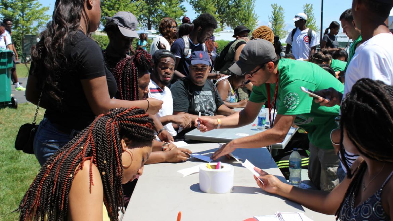 participating in activites