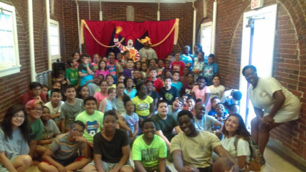 What a great group pix of campers at Paschen Park.