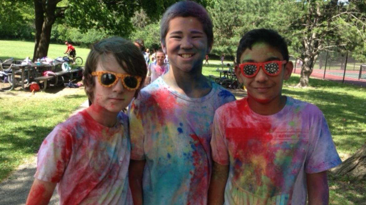 How did these campers get so colorful?  Maybe a little color dash happened at Peterson Park?