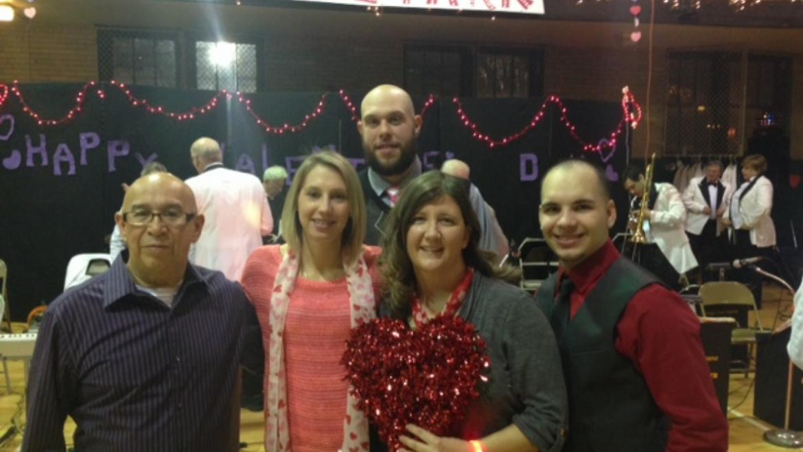 Portage Park staff sends Valentine's Day wishes to all!
