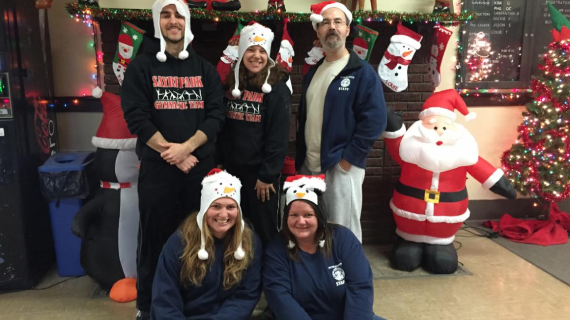 Happy Holidays from the Rutherford/Sayre Staff!