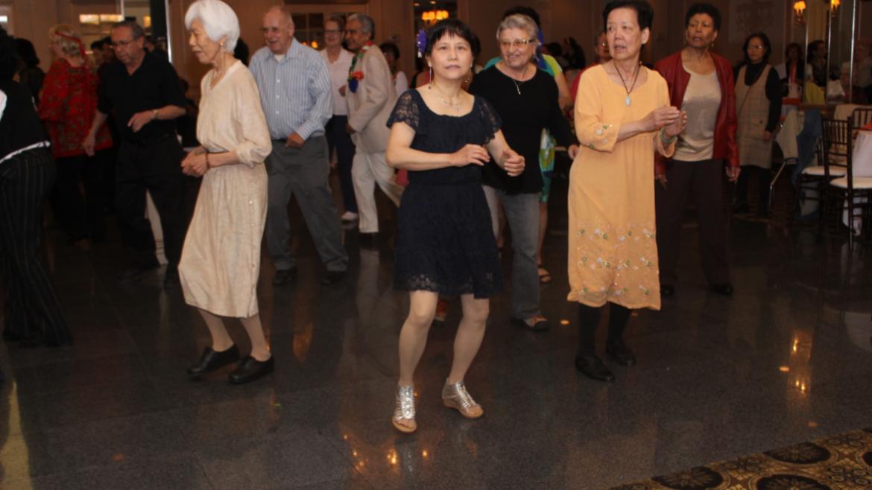 Our dancing seniors.