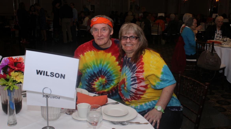Wilson Park Seniors enjoying the luncheon