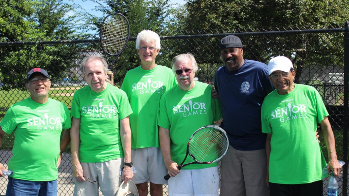 AUG- Check out the tennis champs at Senior Games!