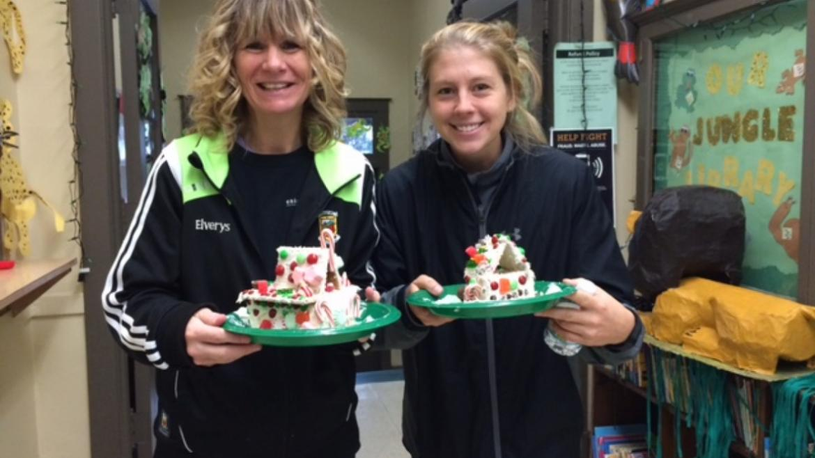 Happy Holidays from our staff at Edison Park.  They made their gingerbread house.