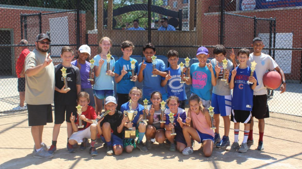 Team Photo: Hamlin Park is unstoppable winning their 5th Championship!