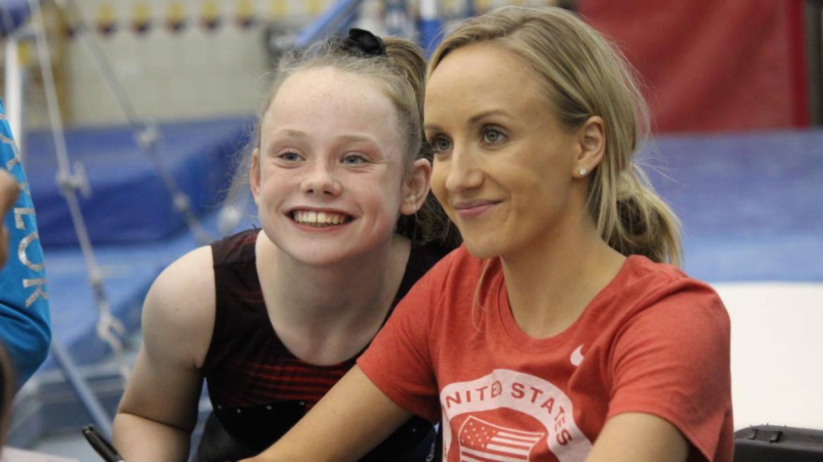 Nastia Liukin posing for photos.(72)
