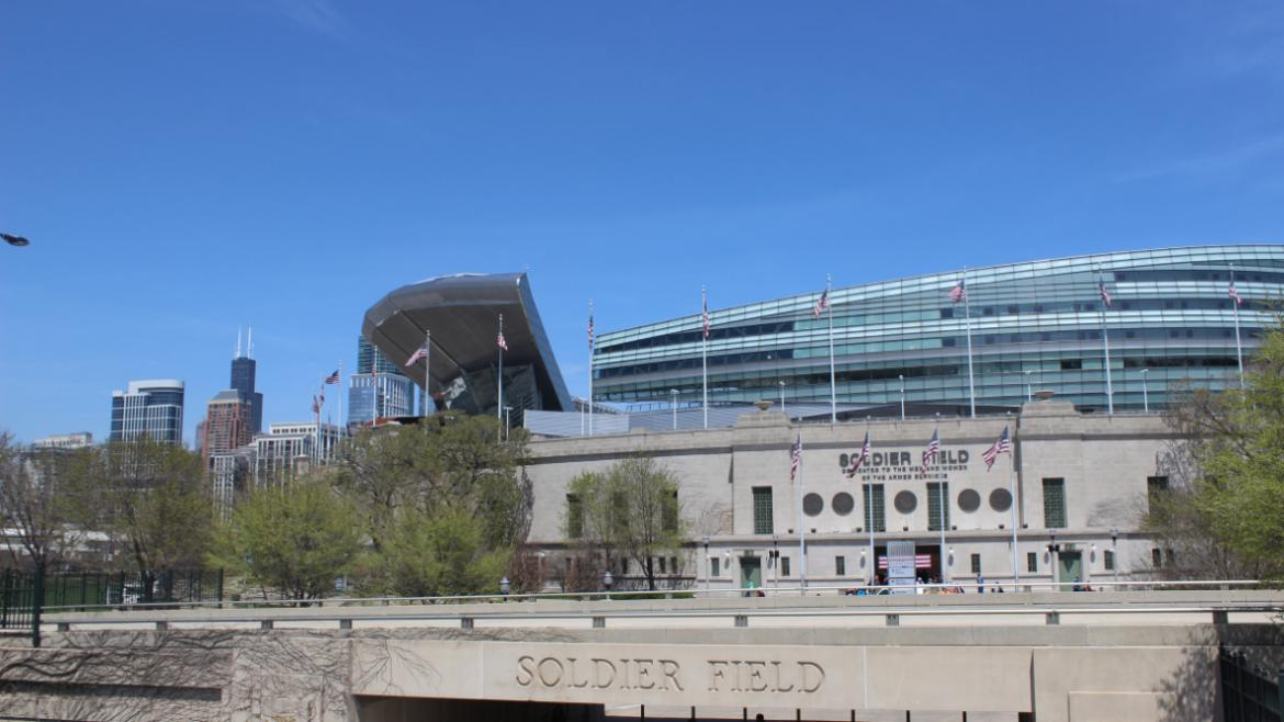 Beautiful Soldier Field.