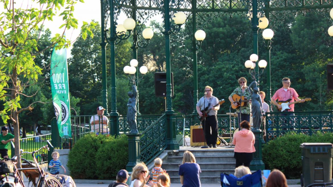 Tuesdays at the Gazebo at Welles Park!