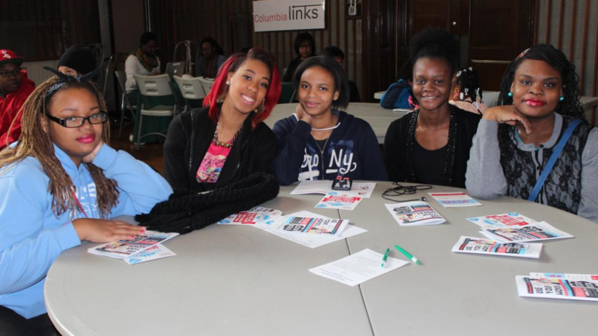Teens from all over the city attended the event