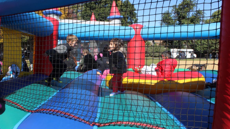 Jumping Jack fun at Wrightwood.